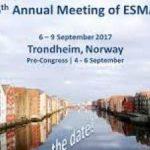ANNUAL MEETING OF ESMAC 2017